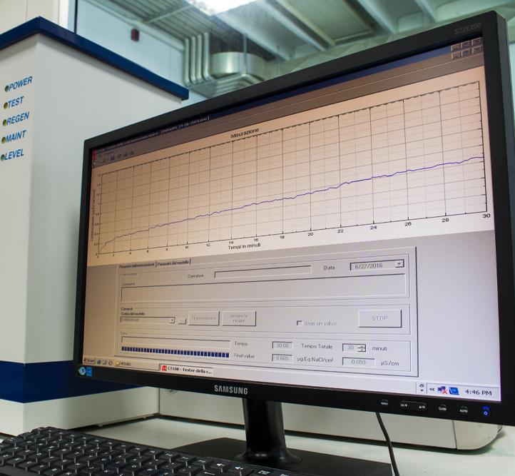 Contaminazione ionica - Alba PCB Goup