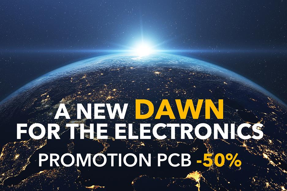 promozione pcb -50%