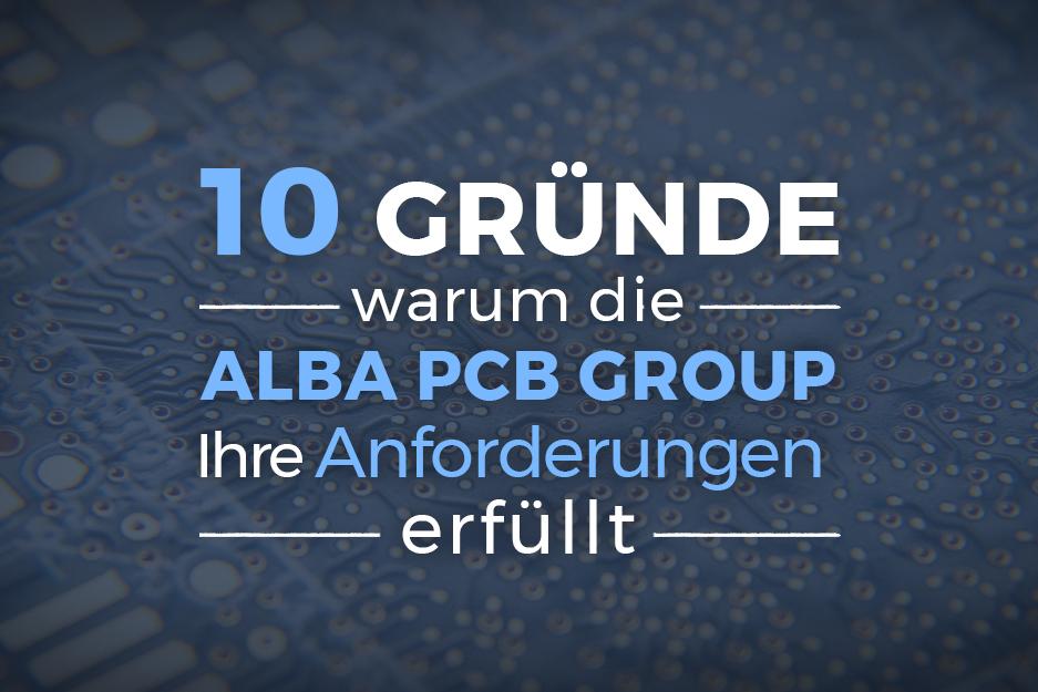10 reasons Alba PCB